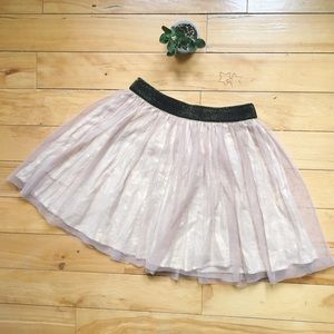 Dresses & Skirts - rose gold circle skirt